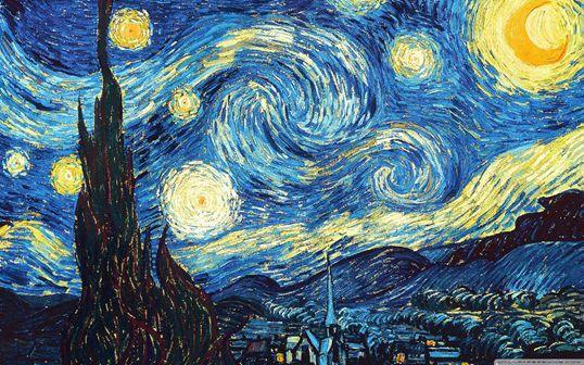 (sì, è Van Gogh, lo so ma nel leggere la poesia questa è la prima immagine che mi è venuta in mente)