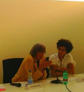 Adania Shibli con Costanza Ferrini