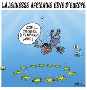 Ali Dilem è un famoso caricaturista algerino