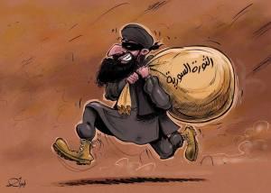 """""""Rivoluzione siriana"""" di Yaser Ahmad (courtesy di SiriaLibano)"""