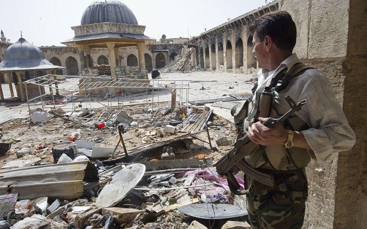 Aleppo, la Grande Moschea (Fonte: Telegraph.co.uk, copyright @David Rose)