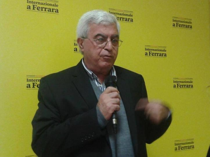 Elias Khoury all'ultimo Festival di Internazionale a Ferrara