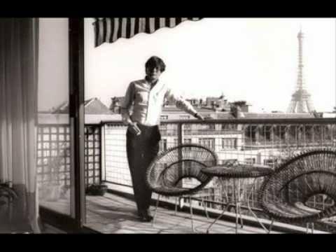 Un giovane Darwish a Parigi