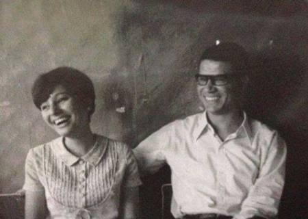 Radwa Ashour e il marito Mourid al-Barghouti