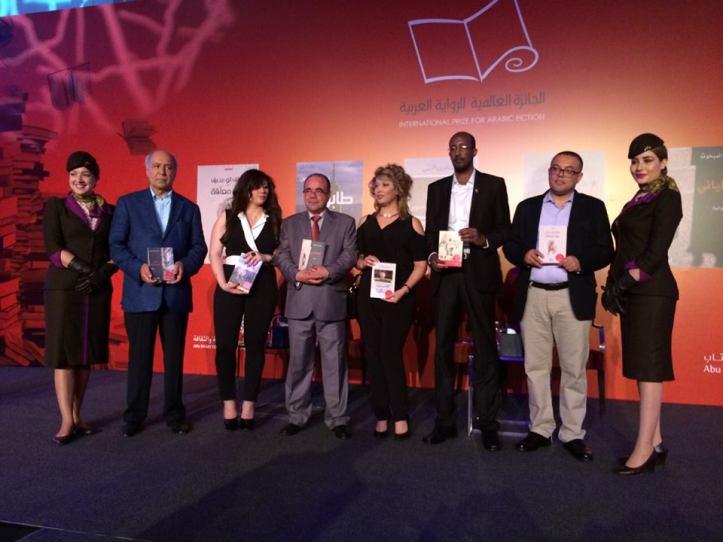 I sei finalisti prima della premiazione