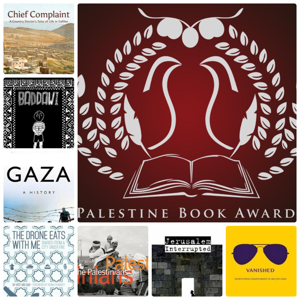 """I finalisti del """"Palestine Book Award"""""""