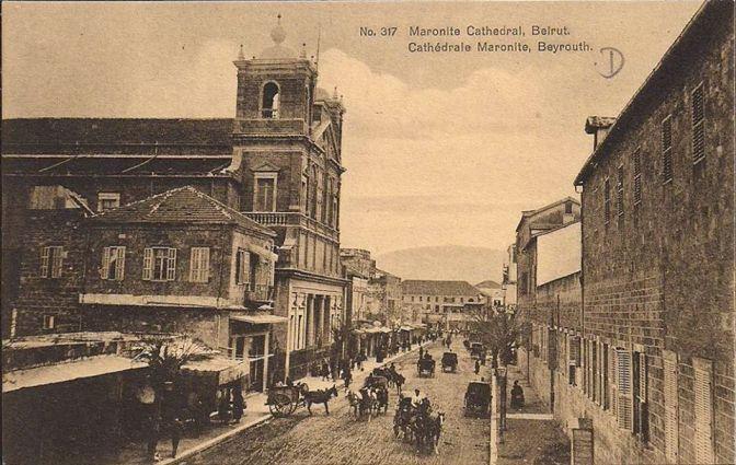cattedrale maronita di san giorgio 1890