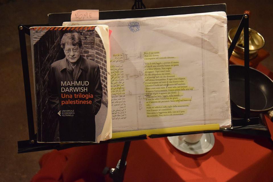 Un caffè in Puglia con Mahmud Darwish