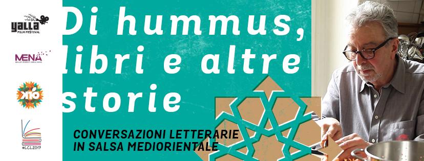 Di hummus, libri e altre storie a Lecce con Farouk Mardam-Bey