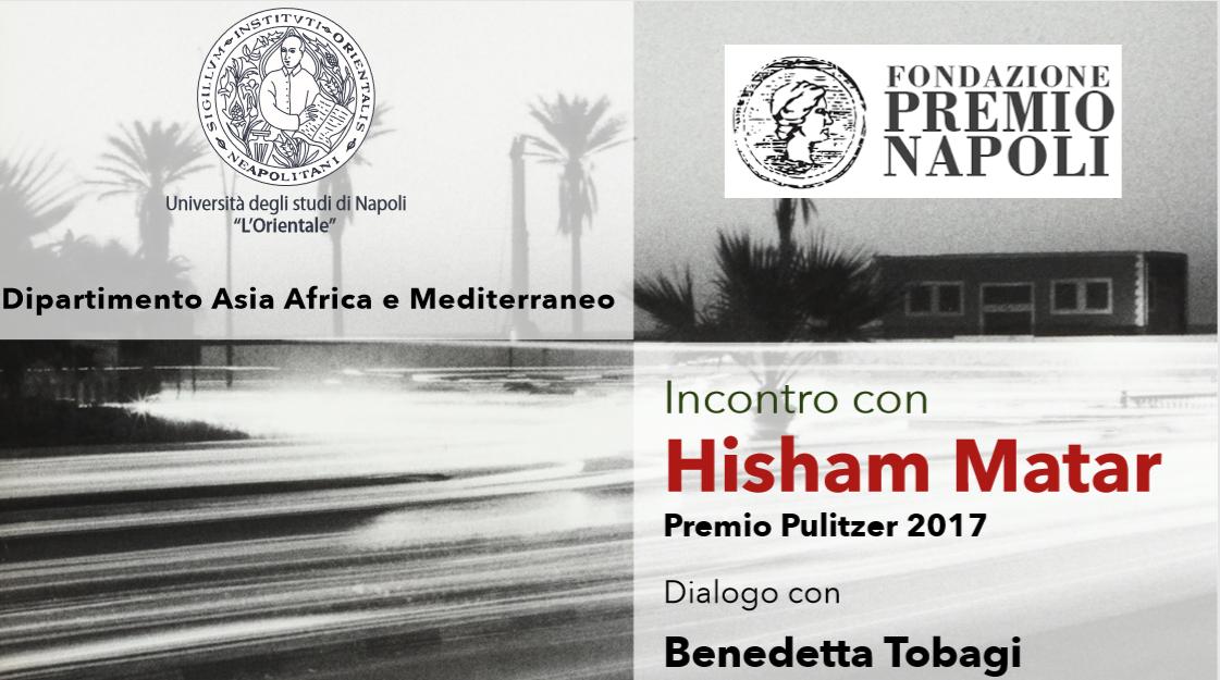 Incontro con Khaled Khalifa a Roma e Hisham Matar a Napoli